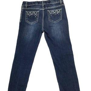 """Cherokee Women's Jeans Size 14 W28"""" x L26"""" Blue"""